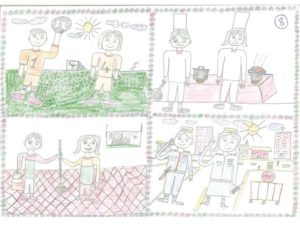 Incontri genitori_Gender Drawing Competition_Song Sothy 10 anni_Cambogia