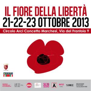 Il fiore della libertà: 3 giorni di manifestazioni antifasciste