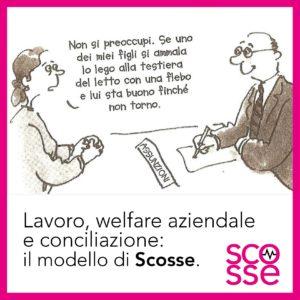 lavoro e conciliazione modello di Scosse